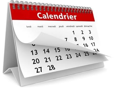Dates à noter